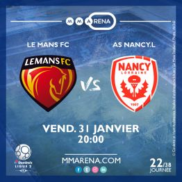 LE MANS FC - AS NANCY L.